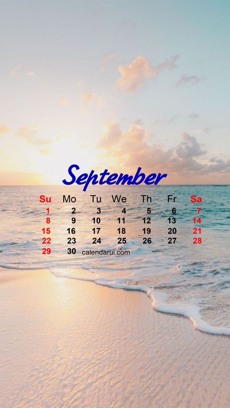 September Iphone Calendar Wallpaper Prety Iphone X