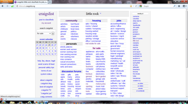 How To Post List On Craigslist Step By Step Instructions Housing Jobs Step By Step Instructions Instruction