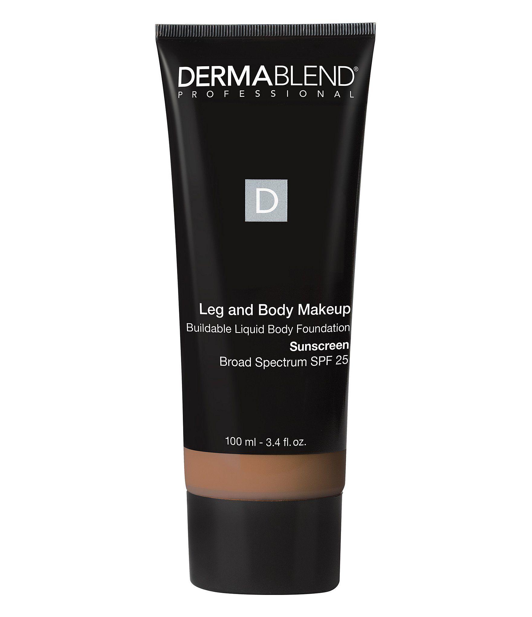 Dermablend Leg & Body Makeup Buildable Liquid Body