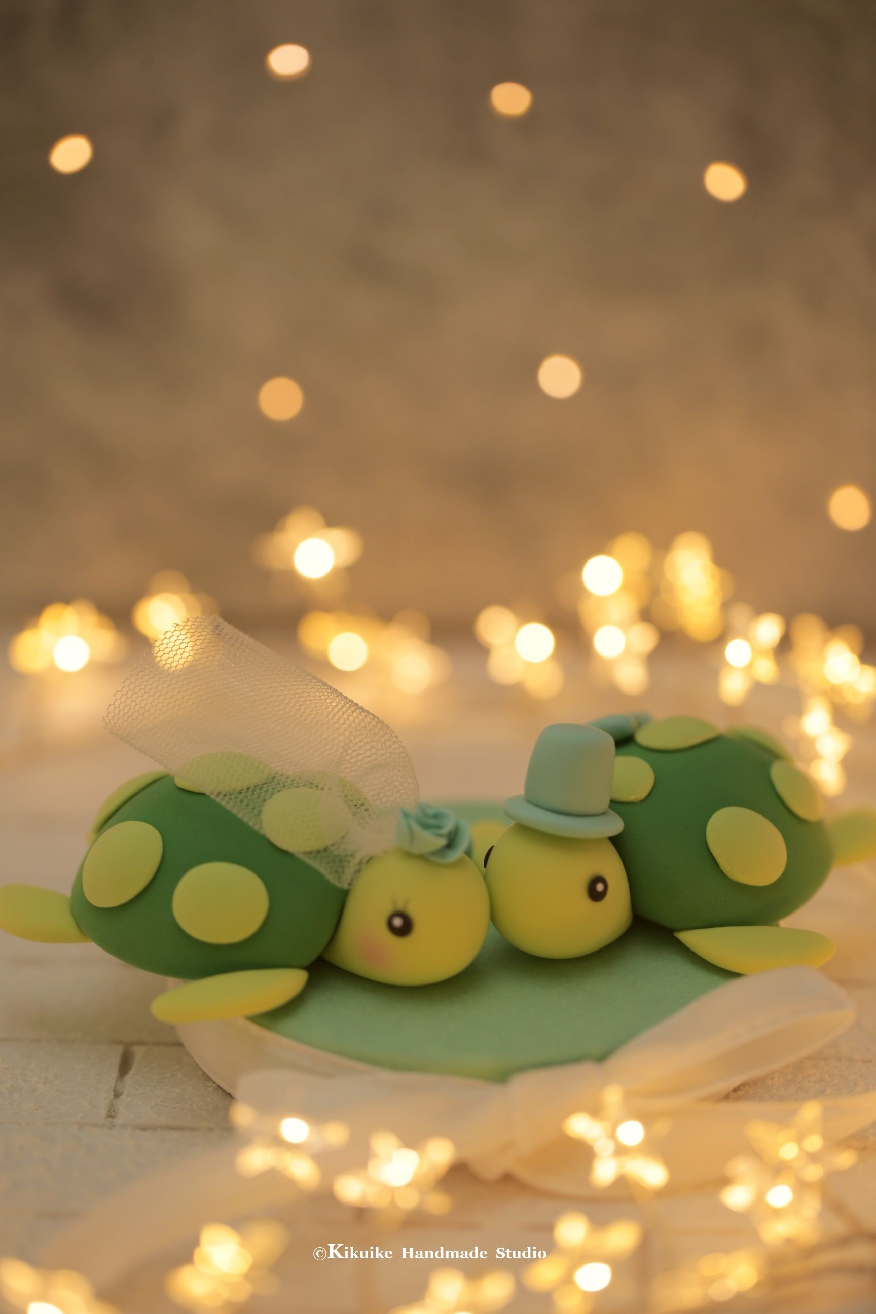 Turtles wedding cake topper for pair ehhh tenemos boda