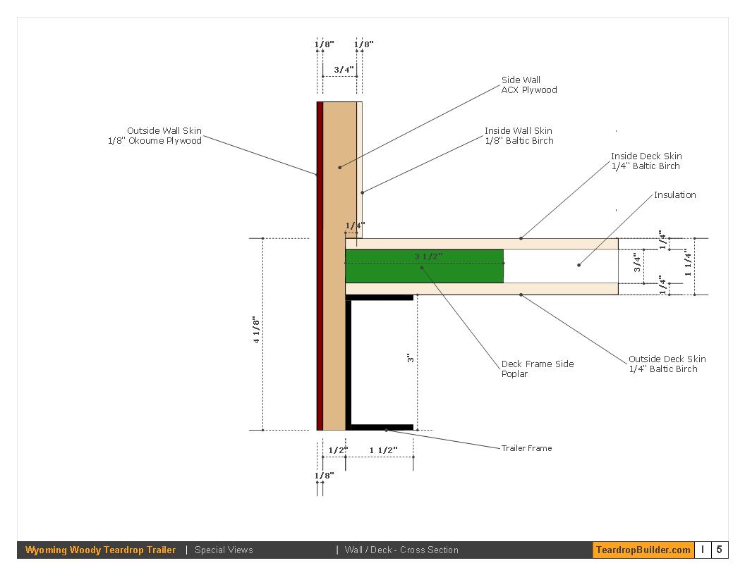 teardrop camper wiring diagram origami bracelet wyoming woody plans builder wood