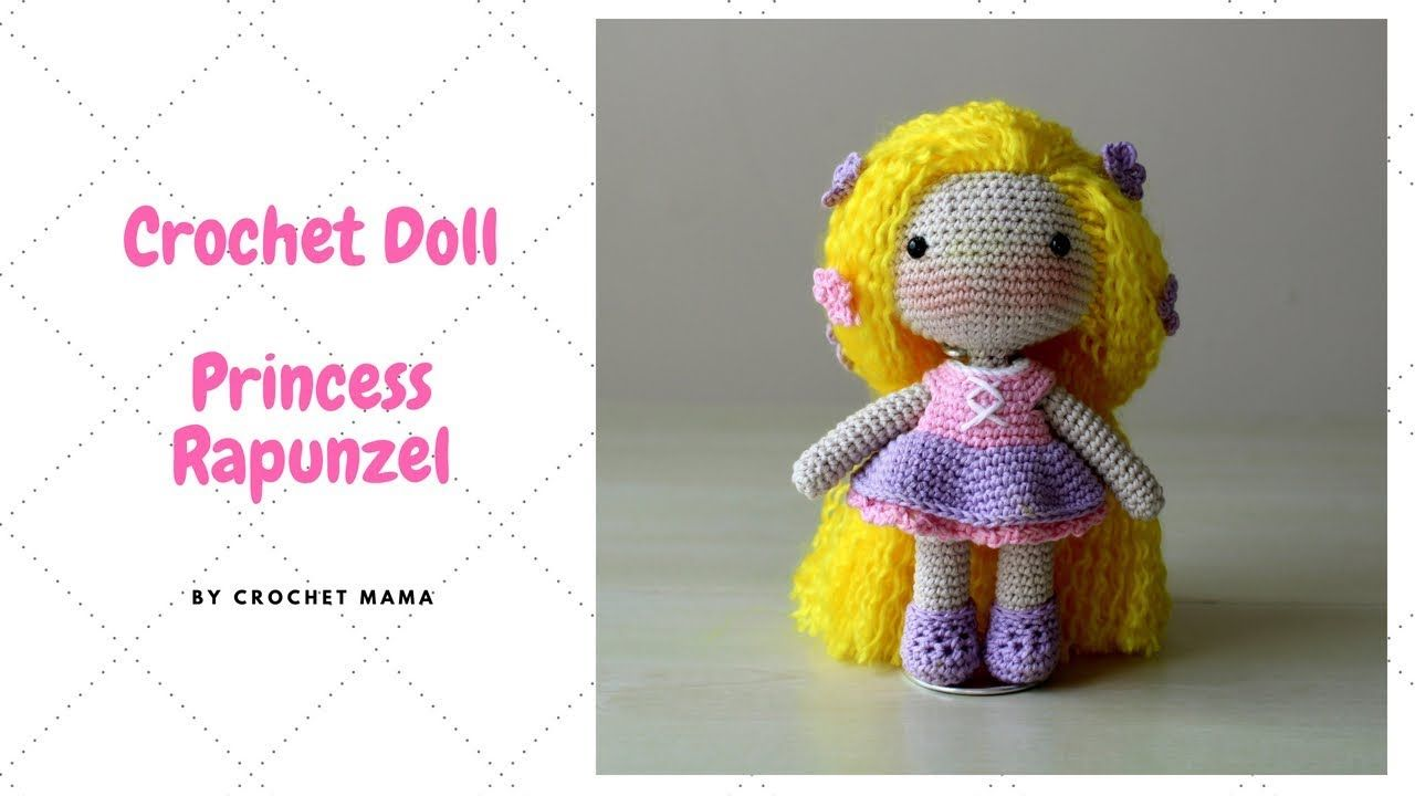 Princess Rapunzel Pattern Tutorial Crochet And Amigurumi Doll IHeYWDE29
