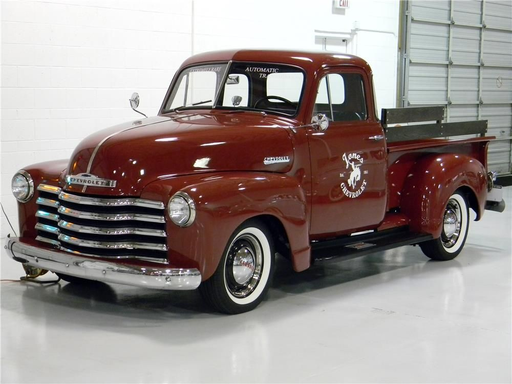 1951 Chevrolet 5 Window Pickup Barrett Jackson Auction Company