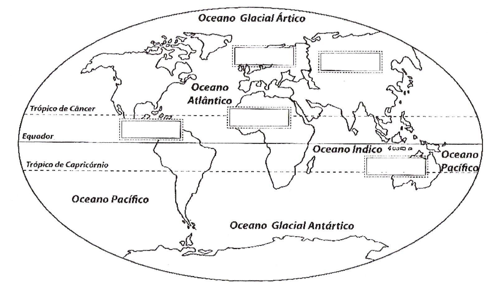 Imagens Do Mapa Mundo Para Imprimir E Colorir Atividades Com