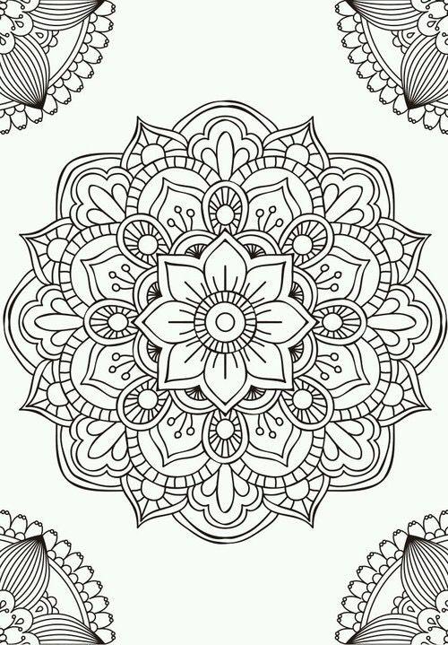 Coloring for adults - Kleuren voor volwassenen | Ideas | Pinterest ...