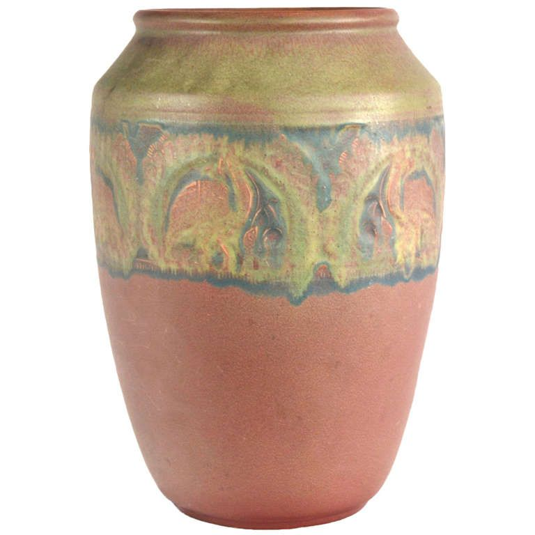 Rookwood Pottery Vase By William Hentschel From A Unique