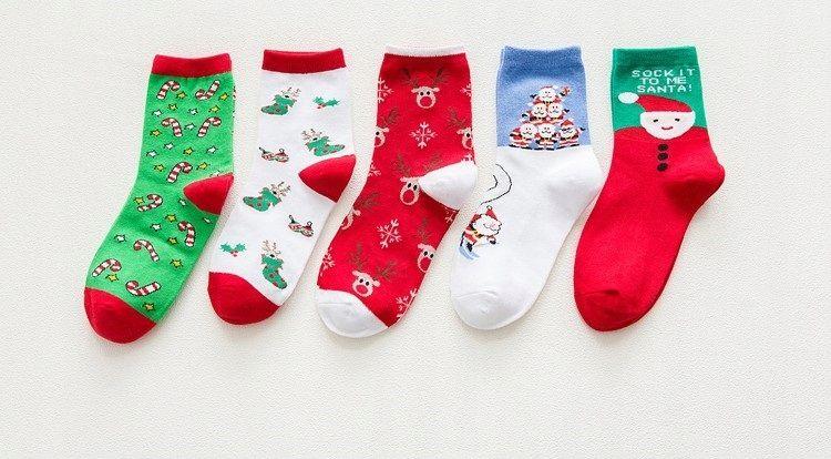 Skarpety Swiateczne W Pudelku Prezent Swiateczny 7698109258 Oficjalne Archiwum Allegro Christmas Socks Christmas Stockings Holiday