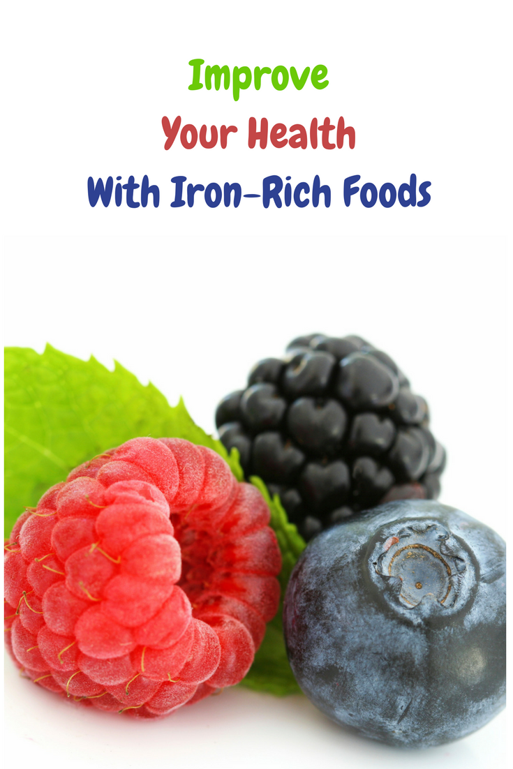 Improve Your Health With Iron-Rich Foods   Iron rich food