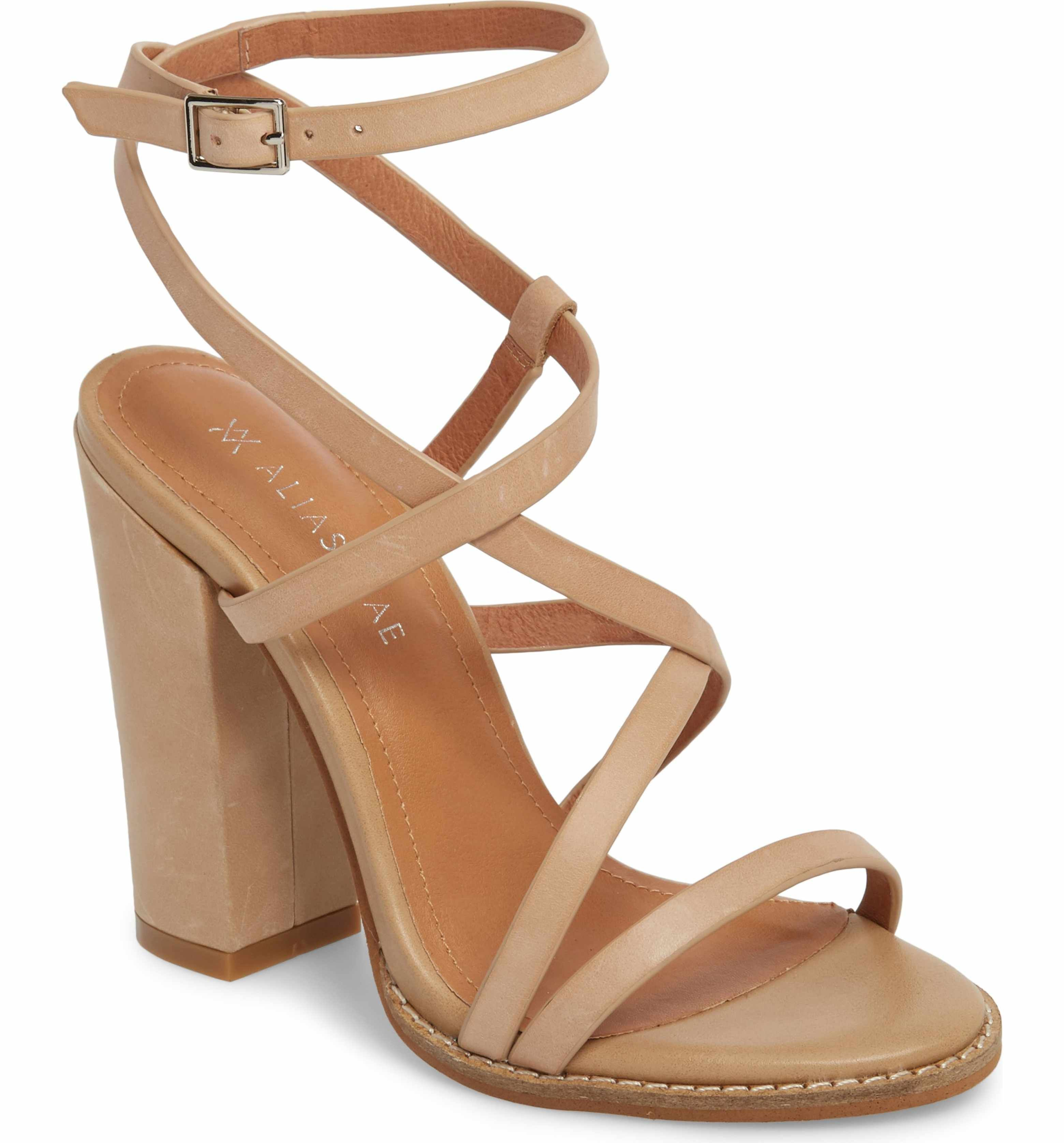 693905684 Main Image - Alias Mae Jyve Asymmetrical Cross Strap Sandal (Women ...