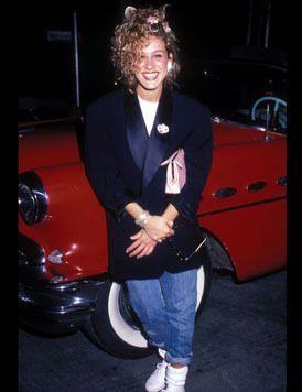 Sarah J. Parker en 1980 con 15 años