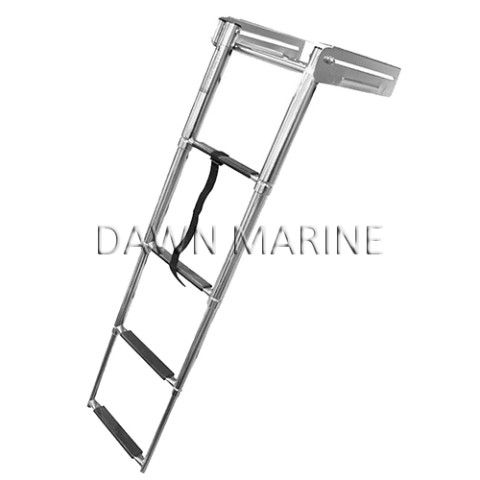 Aisi 316 Stainless Steel 4 Step Telescopic Swim Ladder Dawn