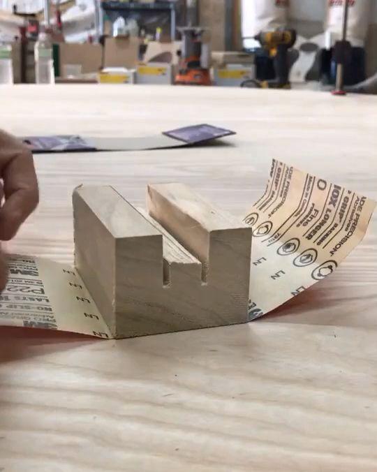 DIY sanding BLOCK