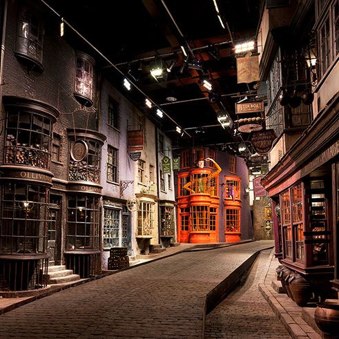 Streets Of London No Film Set For Harry Potter Visit The Making Of Harry Potter Exhibition Harry Potter Studio Tour Harry Potter Studios Harry Potter Tour
