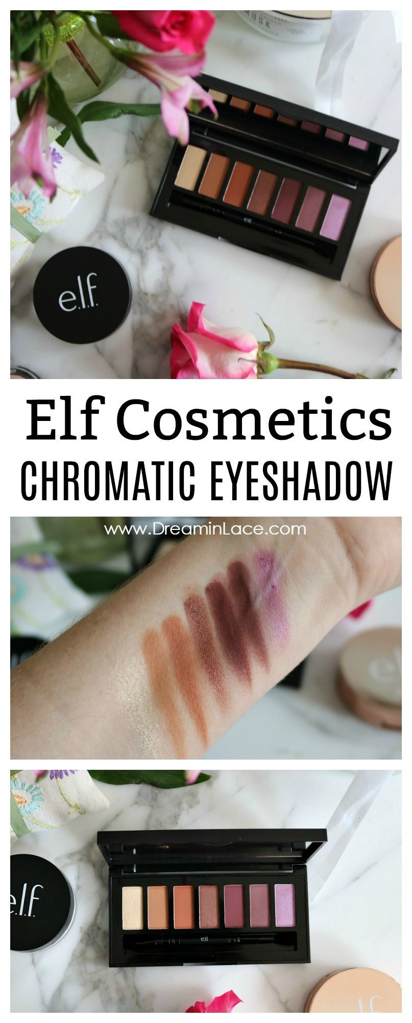 Elf Chromatic Eyeshadow Review + Swatches I DreaminLace