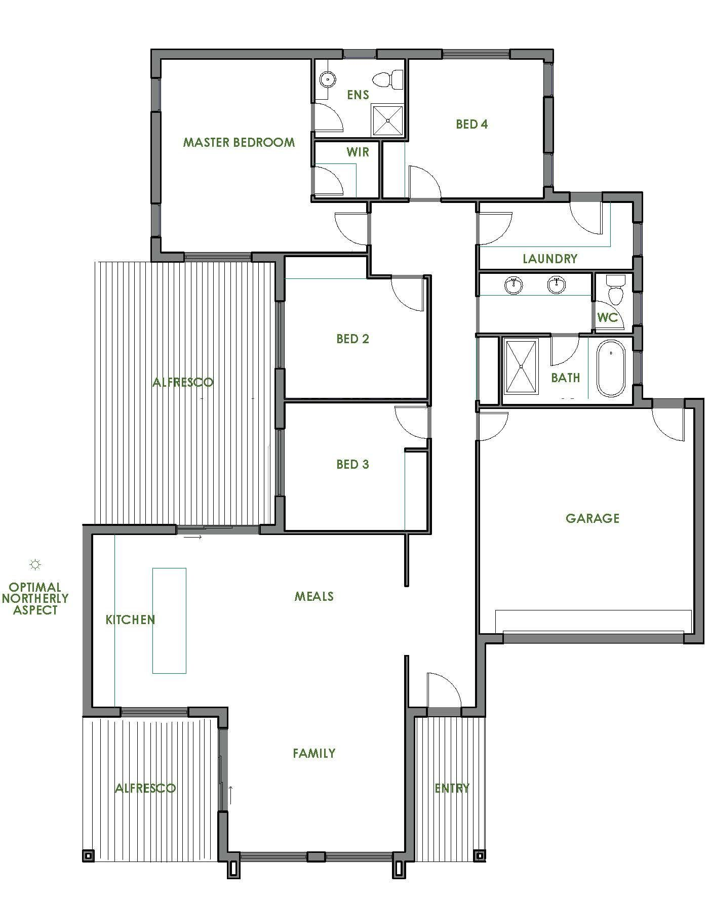 Cost Efficient House Plans 2020 Rumah