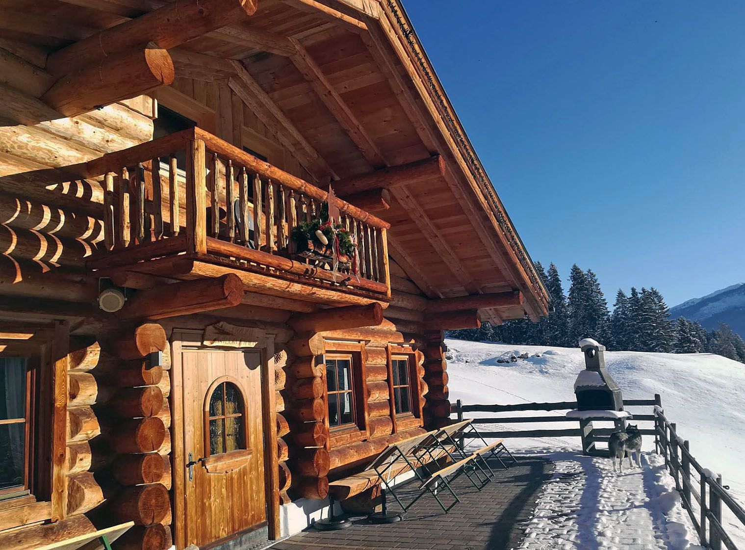 Luxus und Komfort im HüttenUrlaub mit der Gruppe! Hütte