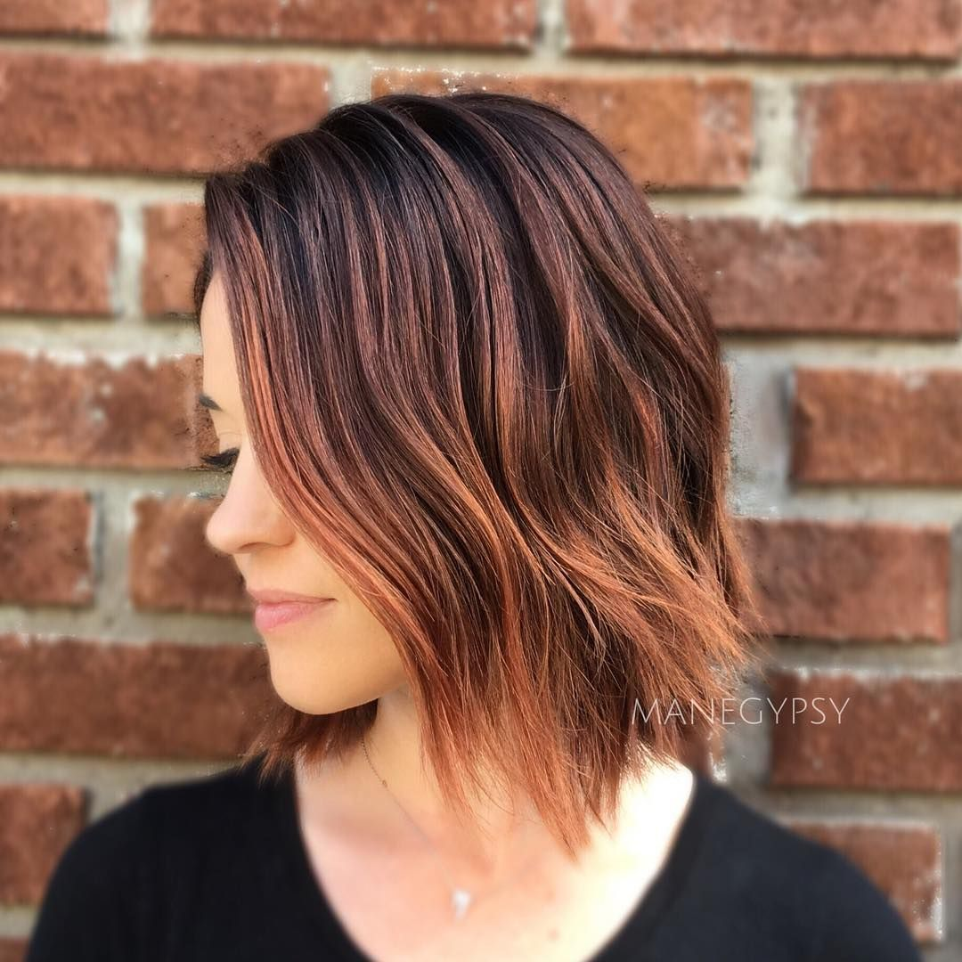 stunning balayage short hairstyles hot hair color ideas