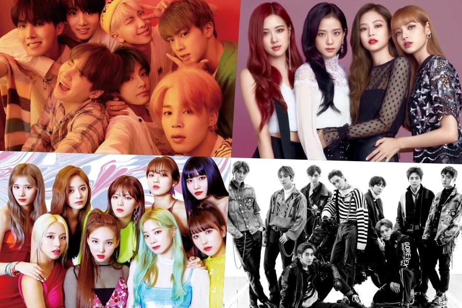 Spotify Has Shared Its Streaming Charts For 2019 Including The Top K Pop Artists Of 2019 Chart Bts Takes No 2 On The List Of Spotify Pop Artist Spotify Kpop