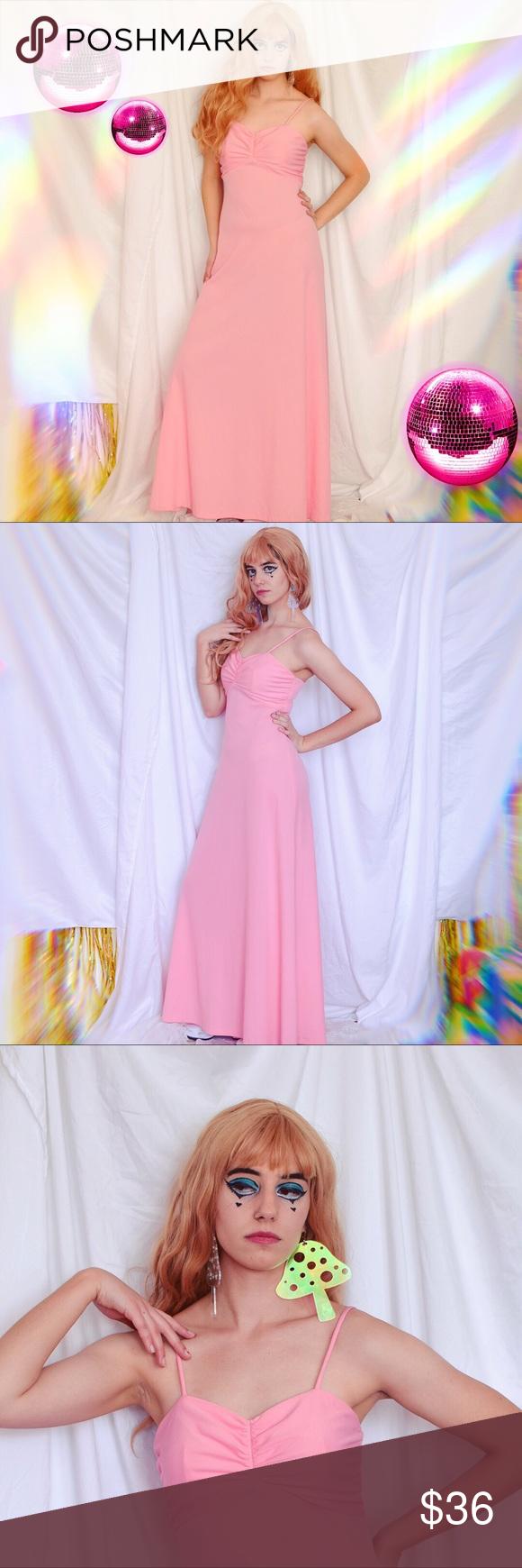 S stewpot pink prom dress babydoll top vintage my posh closet