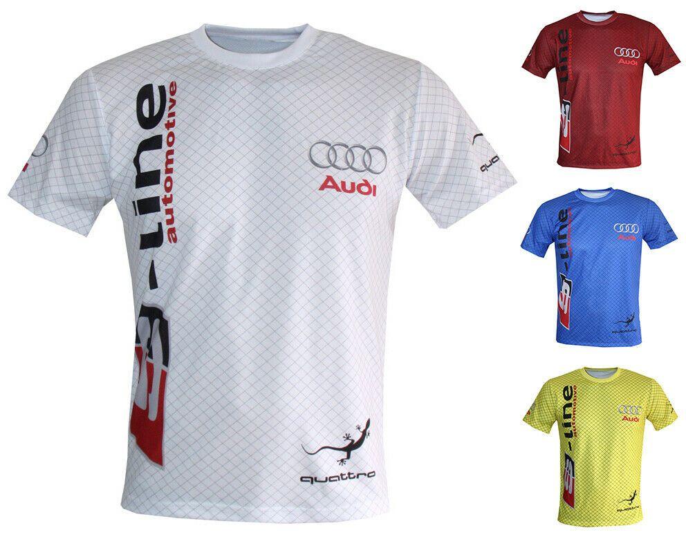Details about Audi TShirt Camiseta Maglietta SLine RS3