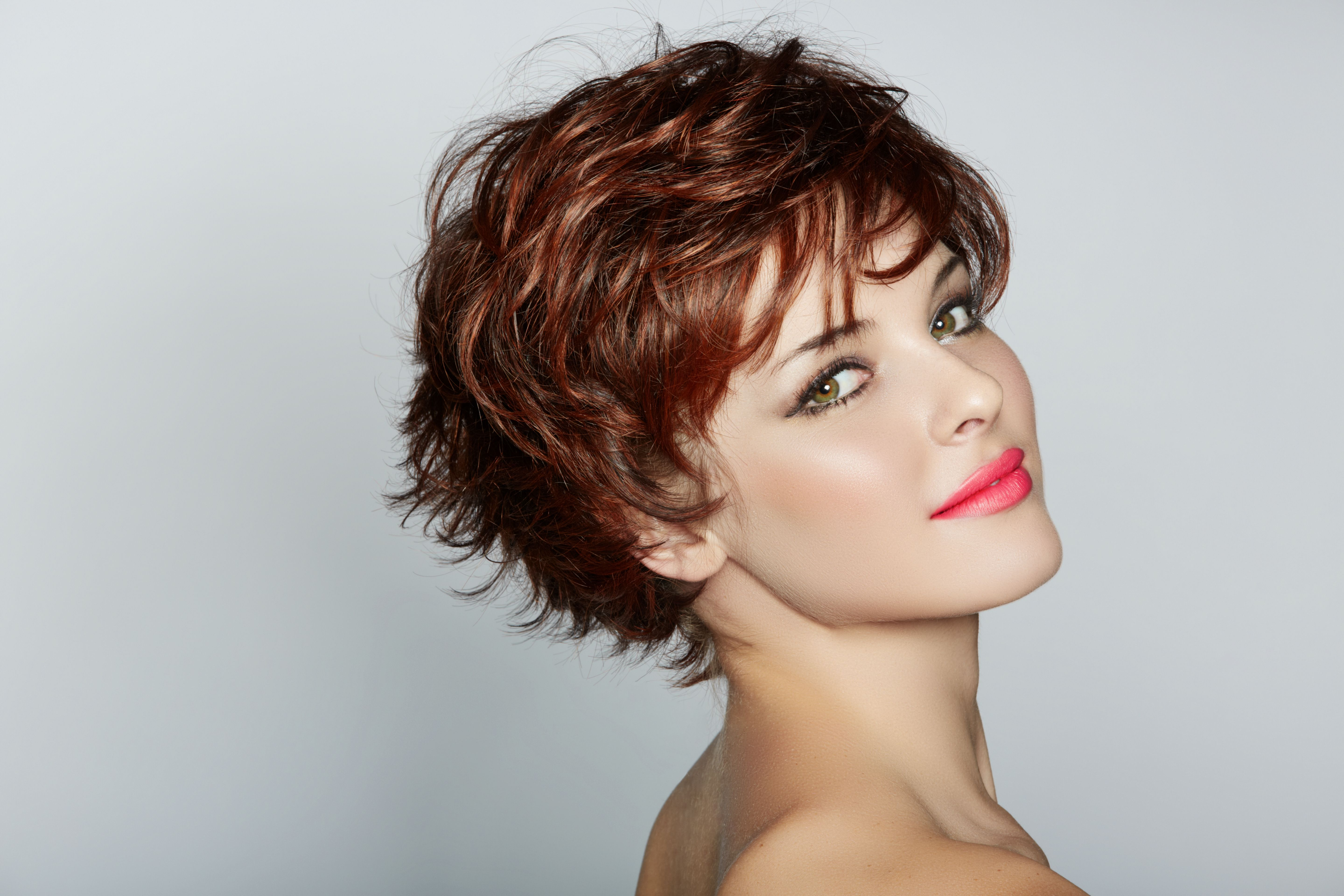 Short Curly Hair With Bangs  Short hairstyles  Pinterest