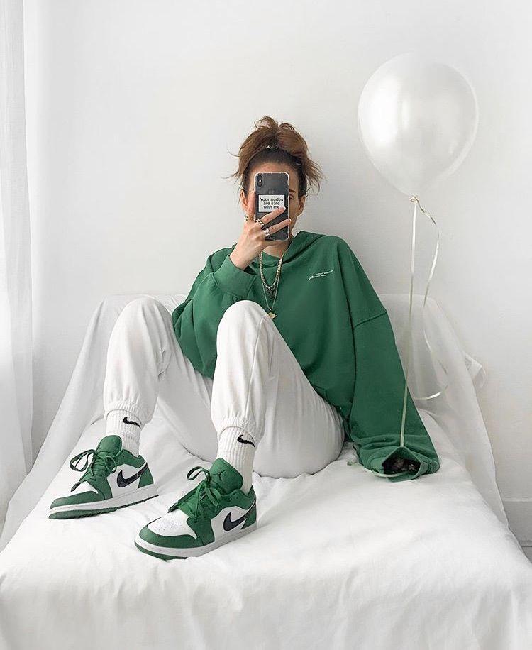 15 Outfits en donde el verde es el protagonista 💚