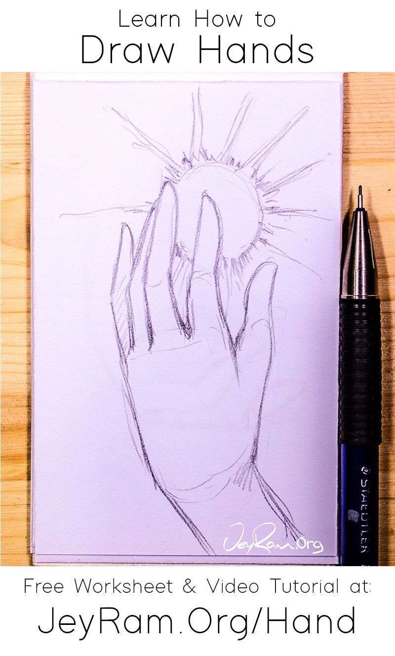 How To Draw Hands Jeyram Art In 2020 How To Draw Hands Drawings Art
