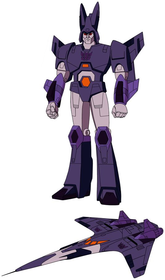 Transformers Generation 1 Cartoon Characters : Cyclonus transformers pinterest g