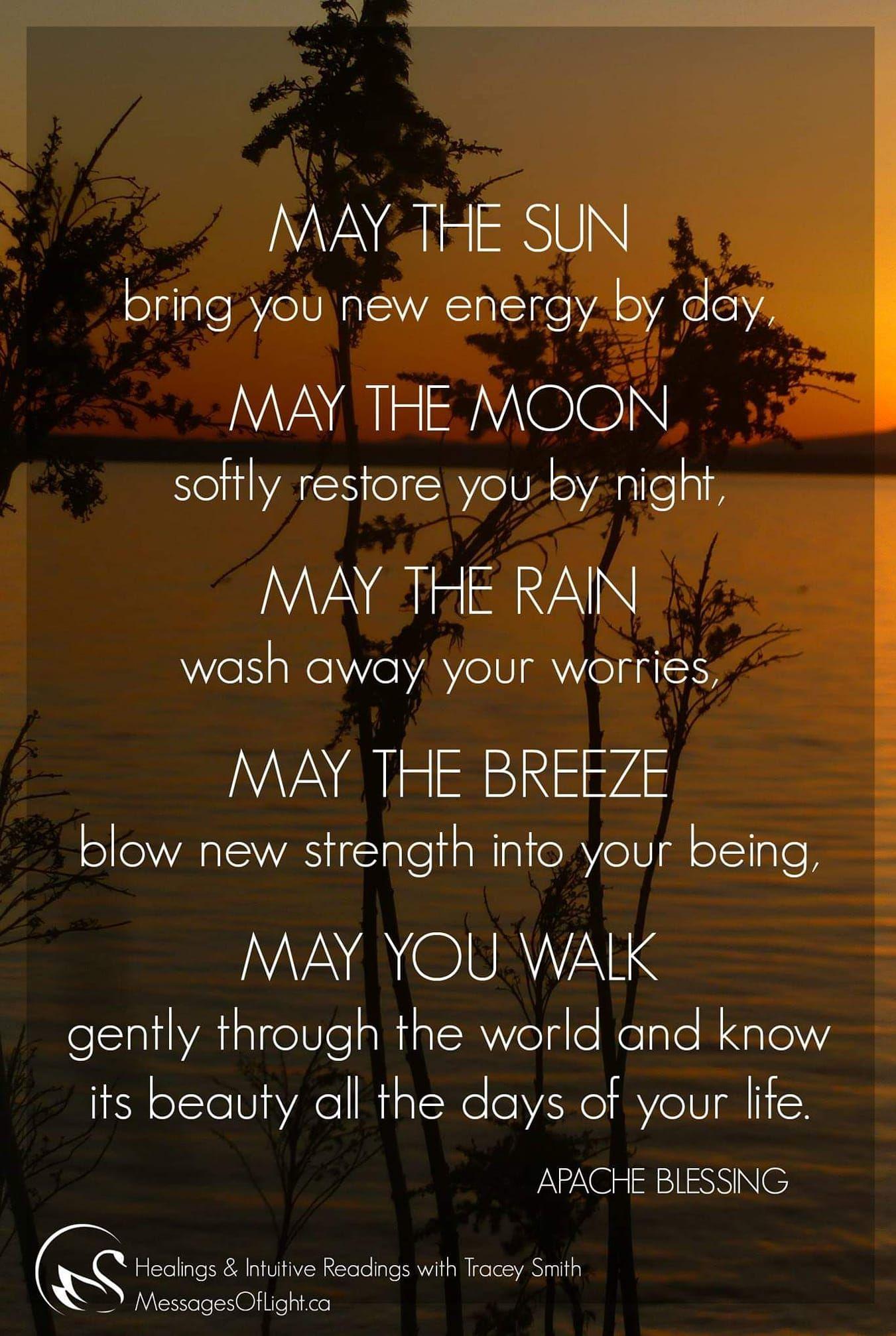 Apache Prayer Joy and sadness, Native american prayers, Life