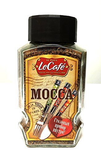 Le Cafe Mocca Coffee Instant  Flatware 190 gr Package Pack of 2 ** Click image to review more details. (This is an affiliate link)