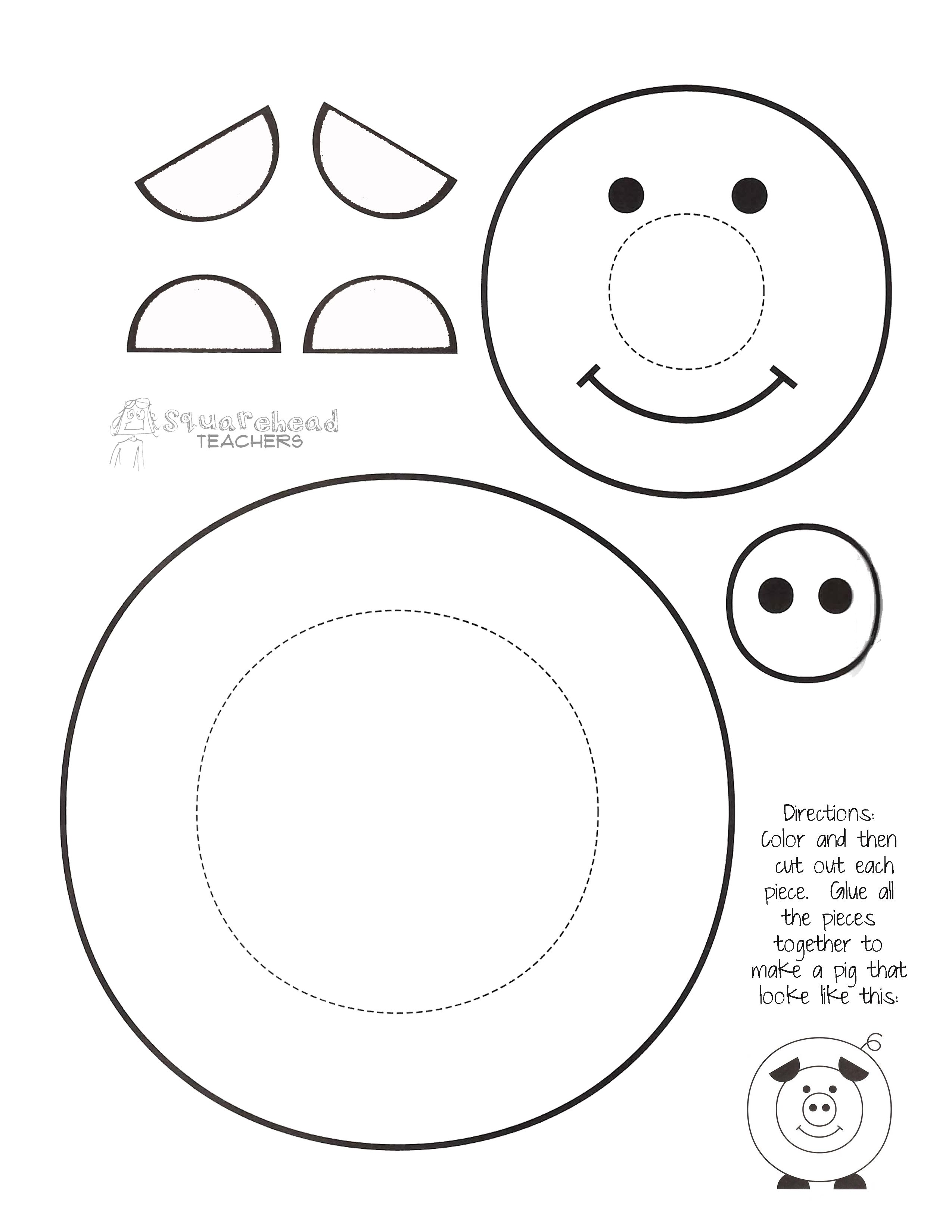 Pin By Carla Bo On Thema Varkens Kleuters Pig Theme Preschool Pig Crafts Printable Crafts Preschool Crafts