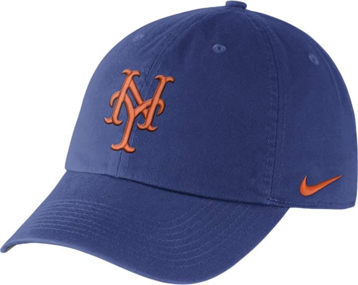 1ccbc983185e Nike Heritage 86 Stadium (MLB Mets) Adjustable Hat (Blue)