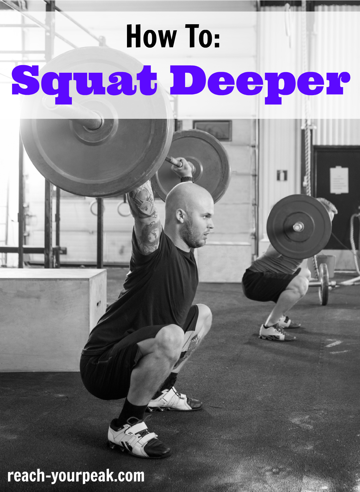 How To Squat Deeper