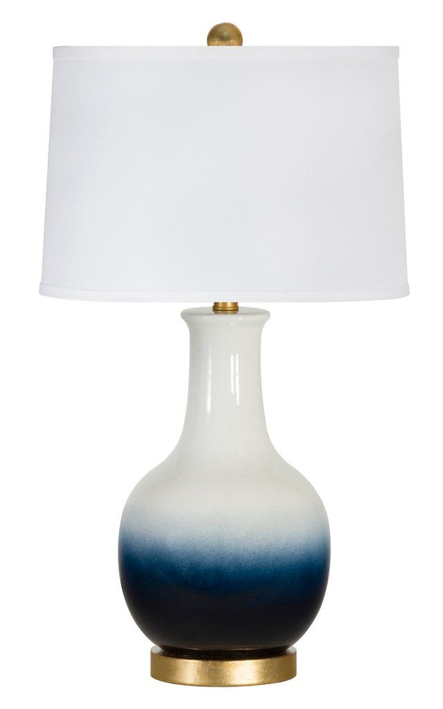 Cassidy Table Lamp Navy White Table Lamp Lamp Blue And White Lamp