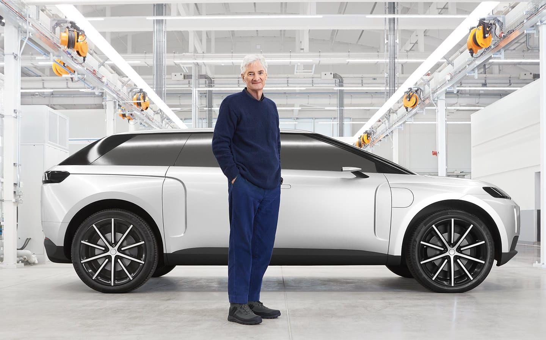Dyson 'presenta' su coche eléctrico que nunca veremos en