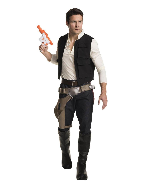 Star Wars Han Solo Grand Heritage Costume Gamestop In 2021 Han Solo Costume Solo Costume Star Wars Han Solo