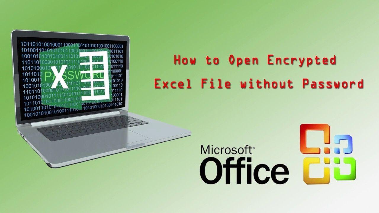 forgotten password to open excel spreadsheet