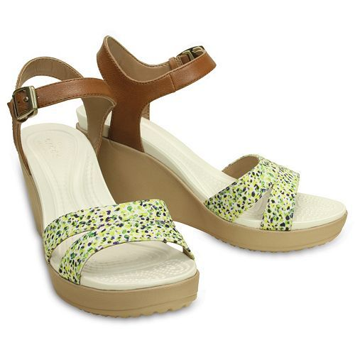 f2e4aa30d Crocs Leigh II Women s Wedge Sandals. SALE  49.99