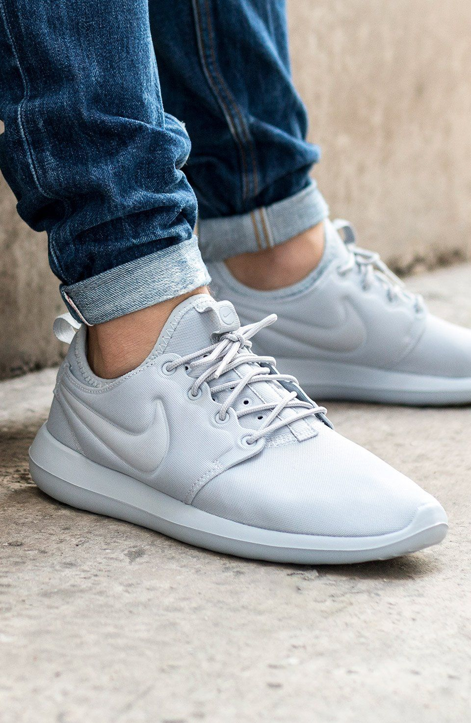 a8b436dd4f53 Nike Roshe Two Wolf Grey  sneakernews  Sneakers  StreetStyle  Kicks