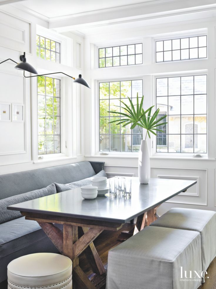 Breakfast Room With Antique Centerpiece Table Home Pinterest Gorgeous Antique White Dining Room Exterior