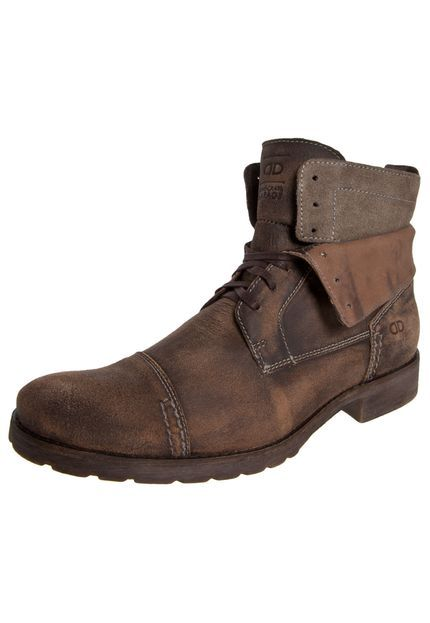 5ee5eee4c6 Bota Democrata Garage Marrom | Men Style | Bota democrata, Botas ...