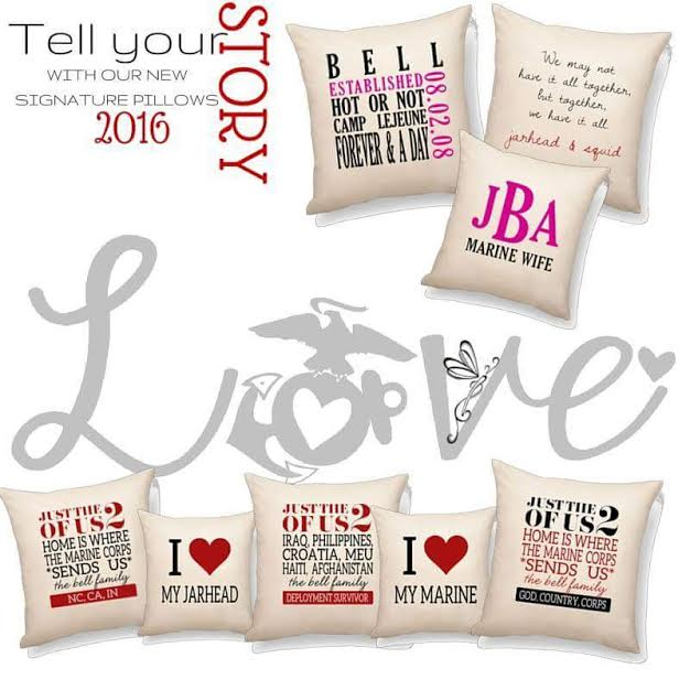 United States Marine Pillow ideas | Thirty-One | Pinterest