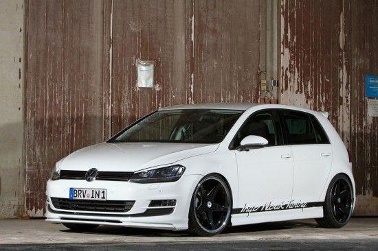 Ingo Noak Vw Golf 7 Tuning 1 Vw Tuning Mag Volkswagen Golf Vw Golf Volkswagen