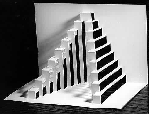 Zed graphic design origami architecture paper for Ingrid siliakus templates