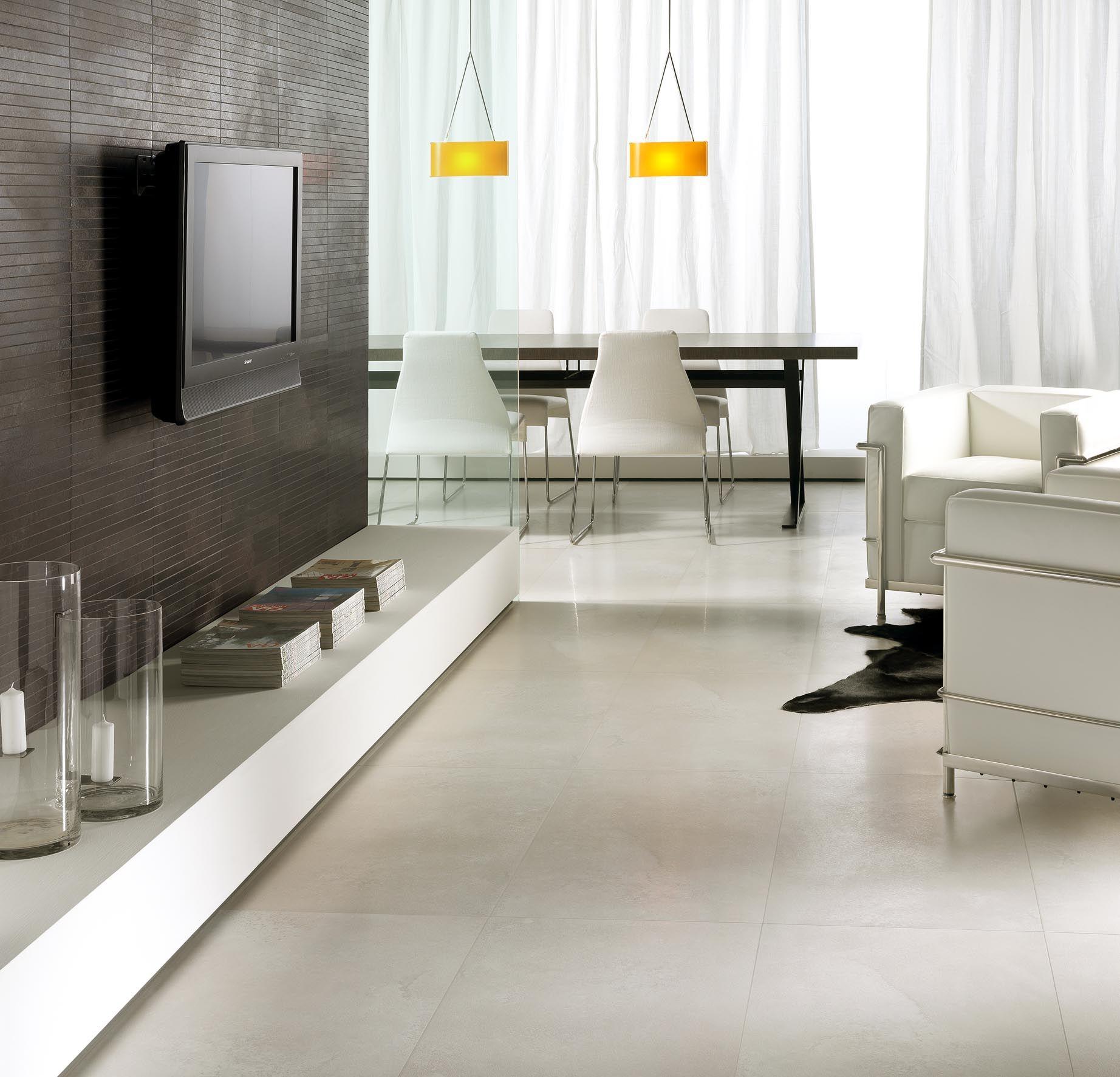 La Faenza Explorer Bianco Living Room Floor Tiles Jpg 1844