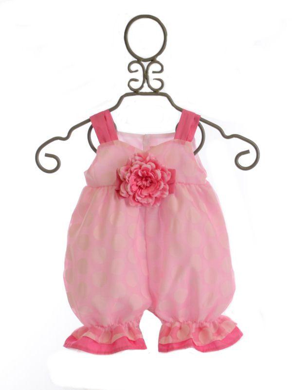 Haute Baby Bubble Romper Razzle Dazzle  58.00 Unique Baby Girl Clothes d6b81e2565