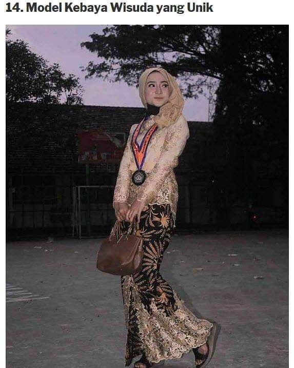 Photo of Inspirasi kebaya for graduation 😍❣️ #inspirasimodelbaju #dress #dresspest…