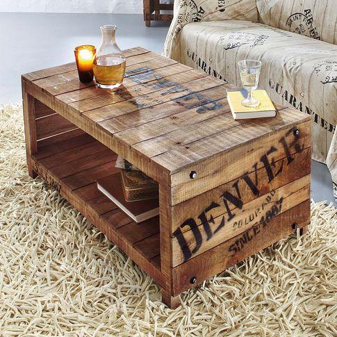 couchtisch denver in braun von liamare bei discovery jetzt hier kaufen zimmer. Black Bedroom Furniture Sets. Home Design Ideas