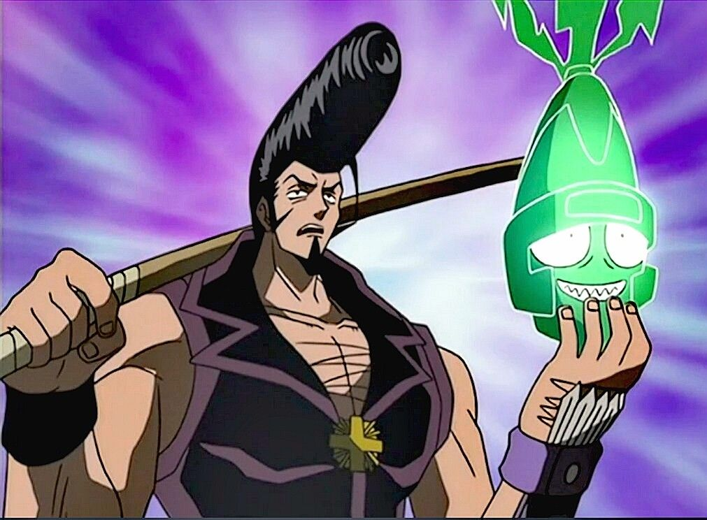 Ryu And Tokageroh Shamanking Tokageroh Ryunosuke Shaman King Shaman Anime
