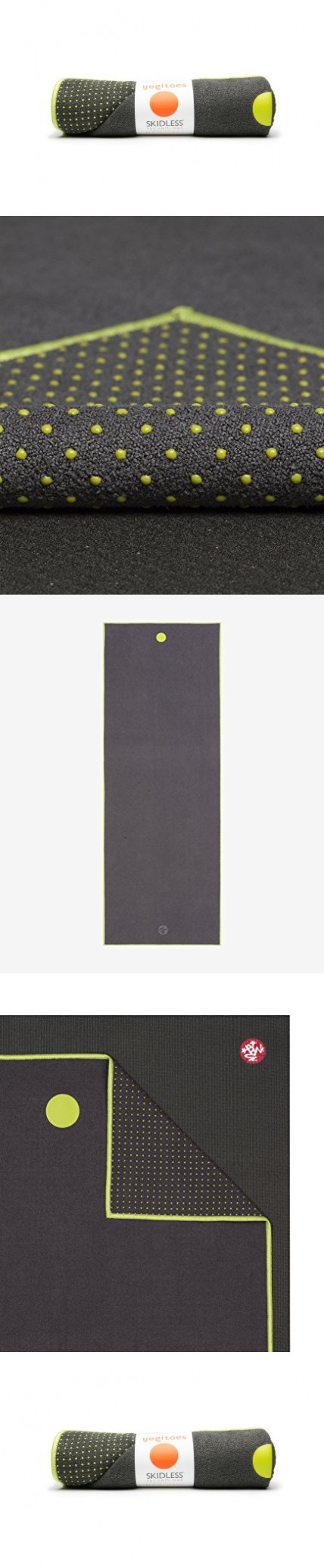 Manduka We Are One Collection Yoga Mat Towel, Thunder